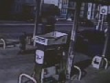 Attendant Sprays Gas Hose At Would-Be Robber