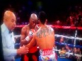 Floyd Mayweather JR Proves What A Punk He Is