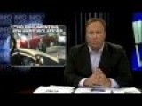 Alex Jones Infowars Bus Stopped At Nazi Fed Checkpoint