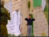 Brave Palestinian Boy And Israeli Soldier