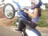 Brazilian Kid Wheely's Like I Can Only Dream Of And She's A Girl