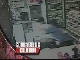 Dumb Robber Tackled By Tiny Female Store Clerk