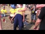 Really Old Guy Dancing With A Younger Woman At A Festival