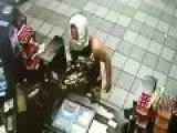 Robber With Underpants On Head - WTF