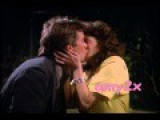 Teri Hatcher Kisses MacGyver 1986 S1E16 'Every Time She Smiles'