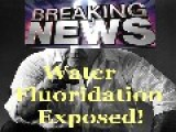 Water Fluoridation Exposed-Hidden Cam At Water Treatment Facility NEWS REPORT