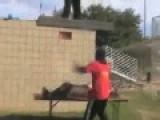 Wrestling Gorilla Neck Pain