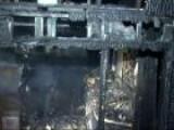 Jack Nicholson&#39 S LA Home Burns