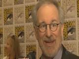 Comic Con - Steven Spielberg And Peter Jackson On Tintin