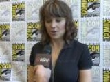 Comic-Con - Lucy Lawless Spartacus Interview