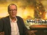 Geoffrey Rush Talks Green Lantern