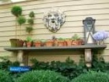 How To Set Up A Stylish Outdoor Mantel