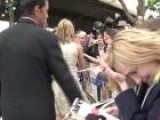 Jennifer Aniston Signs For Fans At Horrible Bosses UK Premiere