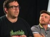 Simon Pegg And Nick Frost On Working With Spielberg