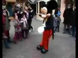 MICKEY MOUSE ACCEPTS BREAKDANCING CHALLENGE