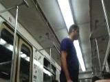 Annoying Drunk Russian Beat On A Train By A Group Os Asian