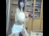 Asian Girl Dancing