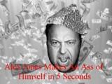 Alex Jones Makes An Ass Of Himself In 5 Seconds Part II