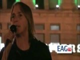 Anarchist Lisa Fithian,Addresses Zombie-Like Minions In Chicago