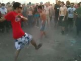 Asian Dude Tripin Balls Or Just Dancing At EDC Las Vegas 2011