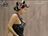 Cristina Del Basso Takes Off Bra