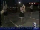 Cheerleader Fail On Live TV!
