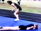 Cheerleader Fail