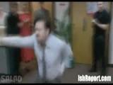 David Brent Dances To Dub Step