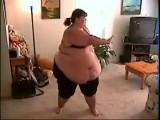 Fat Lady Tries Aerobics