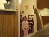 Fart Scares Little Girl