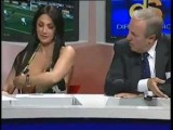 Hot Marika Fruscio Shows Her Breasts On Italian TV!
