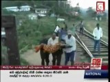 Indian Girl Hit By Train