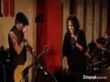 Johnny Depp Plays Guitar For Rocker Alice Cooper