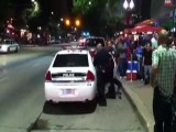 Lady Gets Curb-Smashed, Hogtied By Police