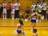 Male Cheerleader Has Skills