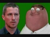 Peter Griffin VS Christian Bale