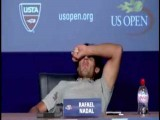 Rafael Nadal Gets A Little Gassy At Press Conference
