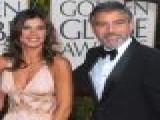 2010 Golden Globes Red Carpet: George Clooney & Elisabetta Canalis - Best Dressed Couple!