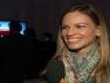 2011 Independent Spirit Awards Backstage: Hilary Swank - Independent Filmmaking Is ' All About The Art'