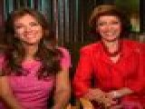 Access Hollywood Live: Elizabeth Hurley & Evelyn Lauder Raise Awareness For Breast Cancer