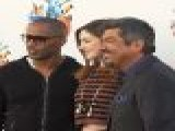 Anne Hathaway, George Lopez & Jamie Foxx Hit &#8216 Rio&#8217 Screening In LA