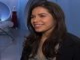 America Ferrera Reacts To Golden Globe Nomination Dec. 11, 2008