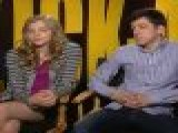 Christopher Mintz Plasse & Chloe Grace Moretz Talk &#8216 Kick Ass&#8217