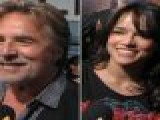 Don Johnson & Michelle Rodriguez Hit The &#8216 Machete&#8217 Premiere In Los Angeles