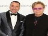 Elton John & David Furnish Discuss Raising Money For The Elton John AIDS Foundation