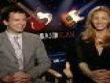 Gaelan Connell & Lisa Kudrow Talk &#8216 Bandslam&#8217