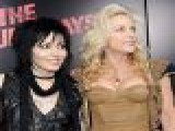 Joan Jett, Cherie Currie & Tatum O&#8217 Neal At &#8216 The Runaways&#8217 Premiere, Los Angeles