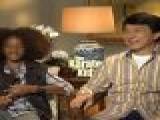 Jaden Smith & Jackie Chan Kick It In ' The Karate Kid'