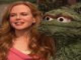 Nicole Kidman Visits &#8216 Sesame Street&#8217