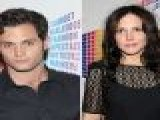 Penn Badgley & Mary-Louise Parker Hit Target Fashion Event In New York